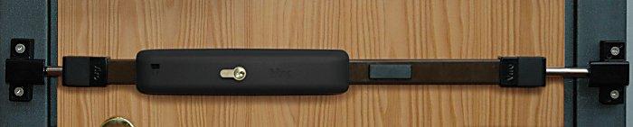 La Tranca Universal electrónica Viro cuenta con un sensor de vibración antiintrusión, un marcador telefónico GSM y un micrófono de escucha ambiental.