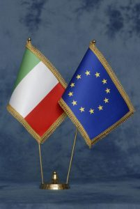 Bandera UE-ITALIA